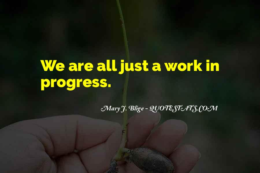 Quotes About Progress #15425