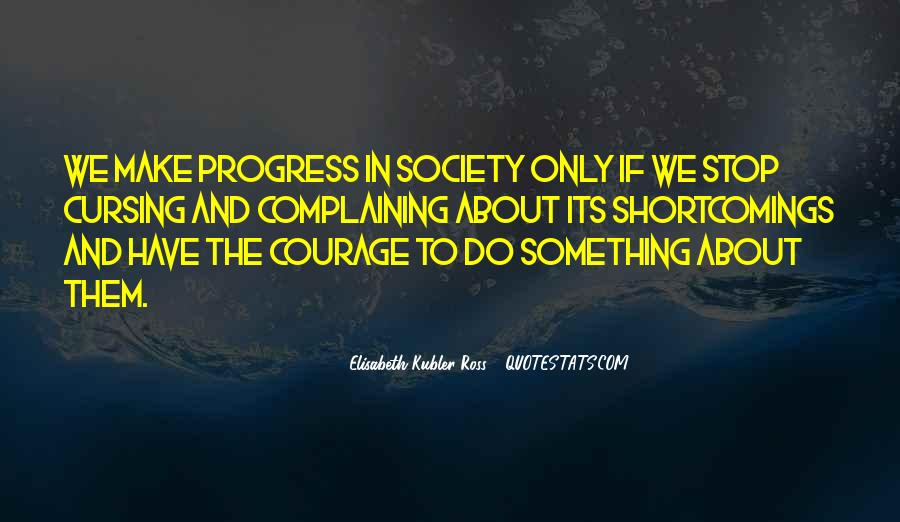 Quotes About Progress #48395