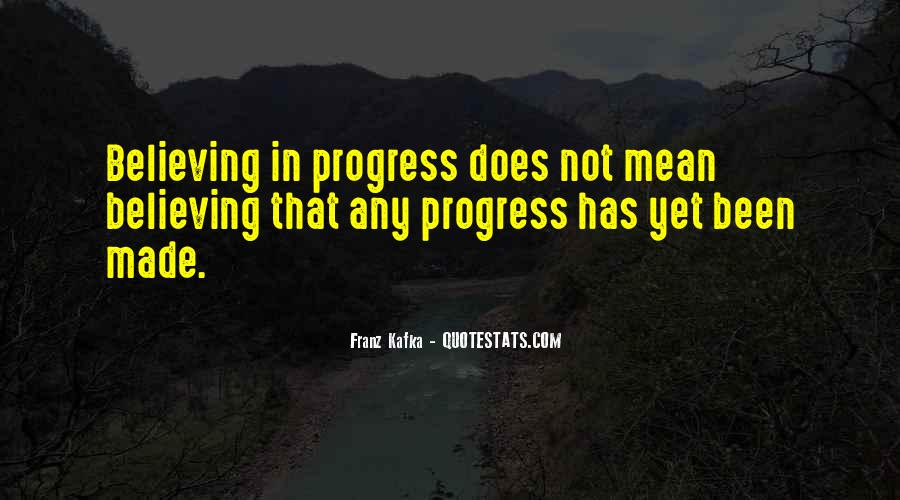 Quotes About Progress #53811