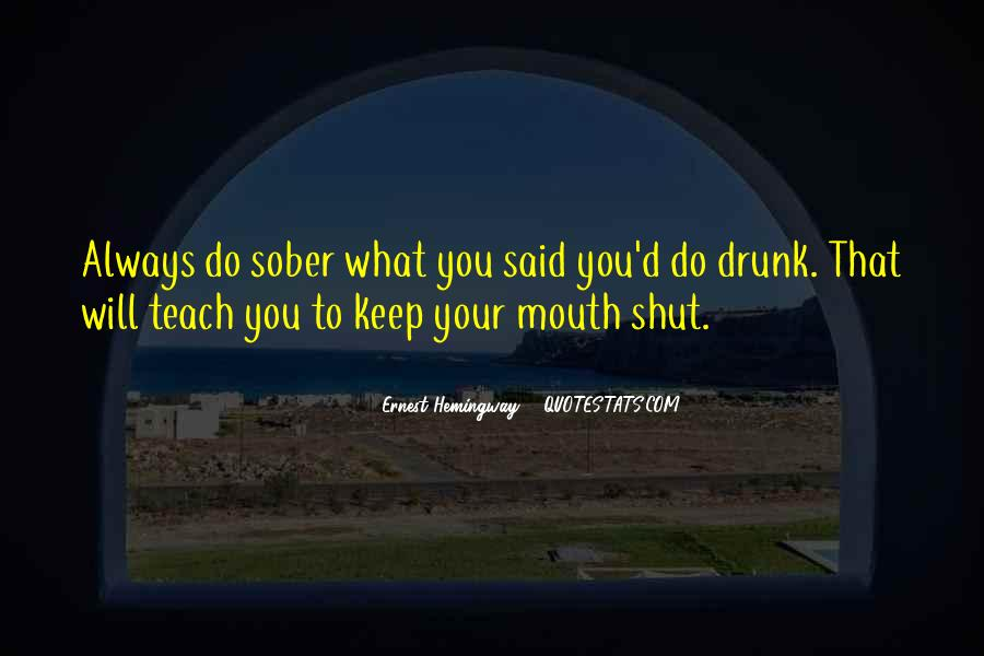 Mouth'd Quotes #600838