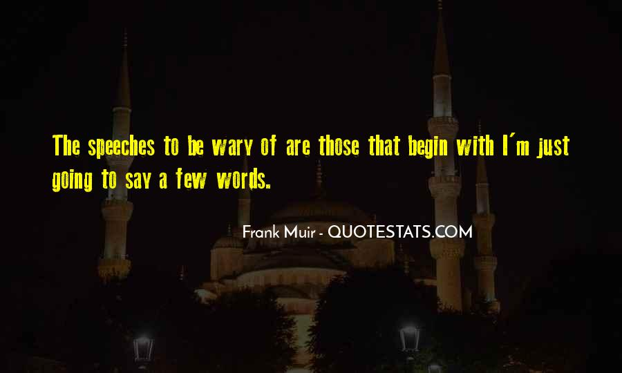 Muir's Quotes #183122