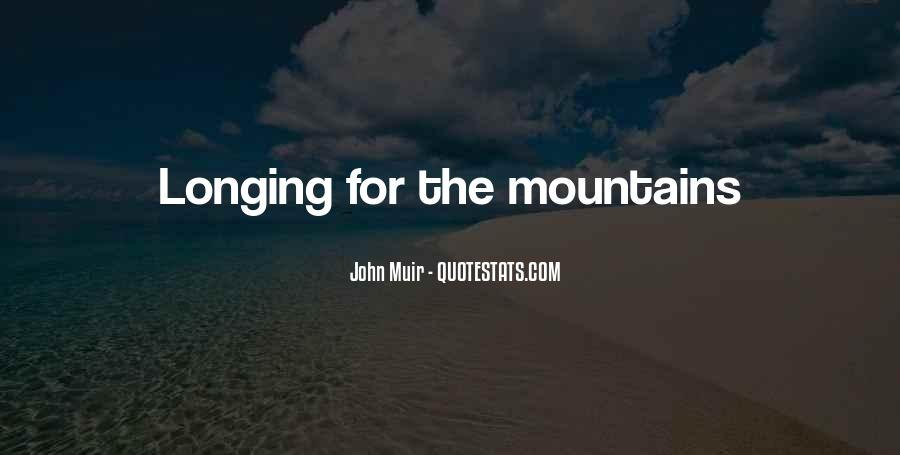 Muir's Quotes #272409