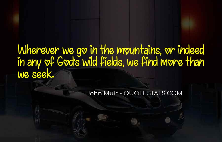 Muir's Quotes #758900