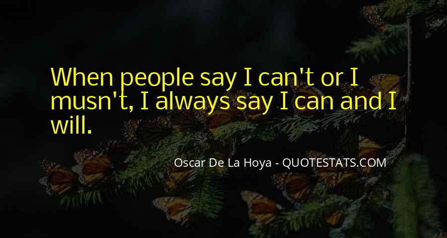 Musn't Quotes #619954