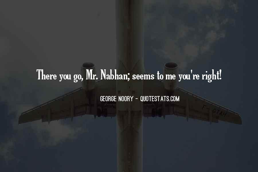 Nabhan Quotes #1277867
