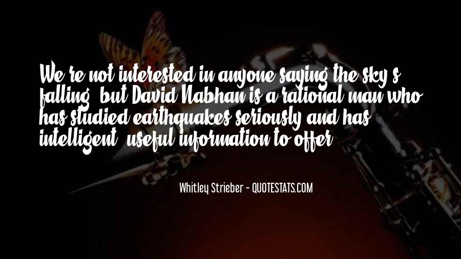 Nabhan Quotes #1730039