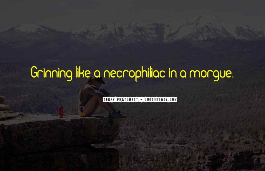Necrophiliac Quotes #1447912
