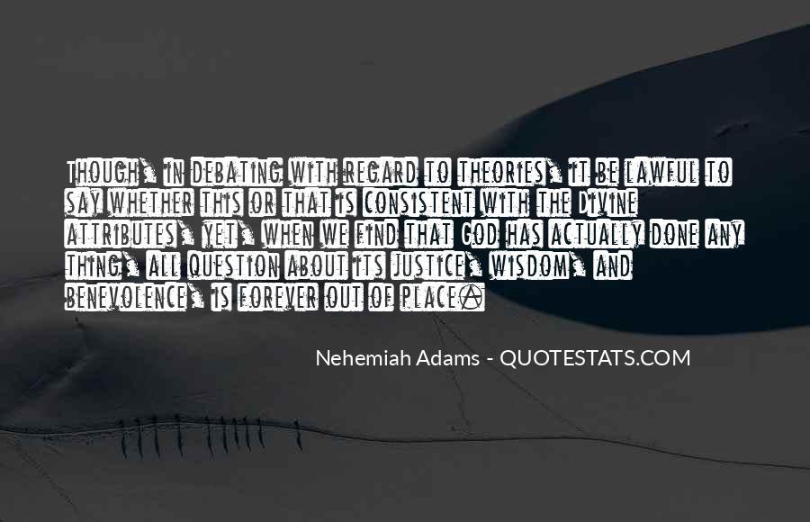 Nehemiah's Quotes #980800