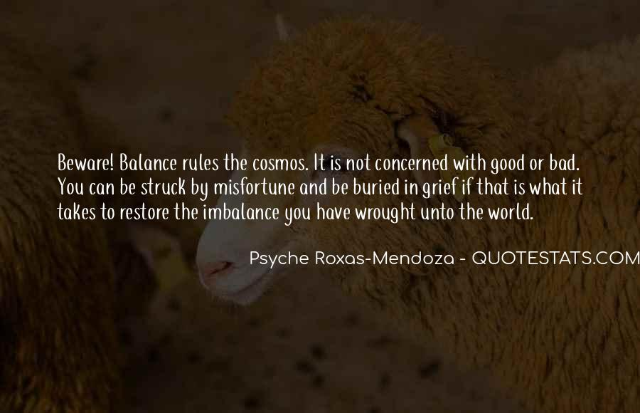 Quotes About Imbalance #1131957