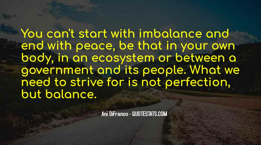 Quotes About Imbalance #1178014