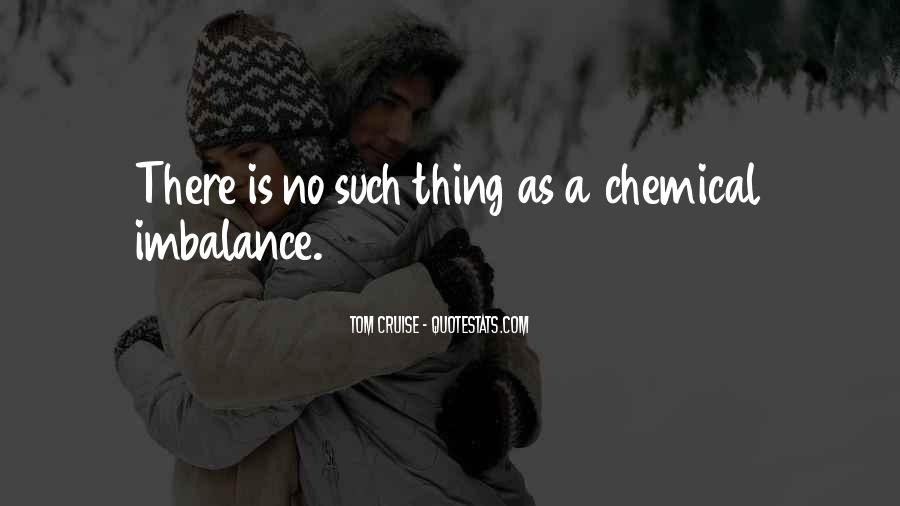 Quotes About Imbalance #1185081