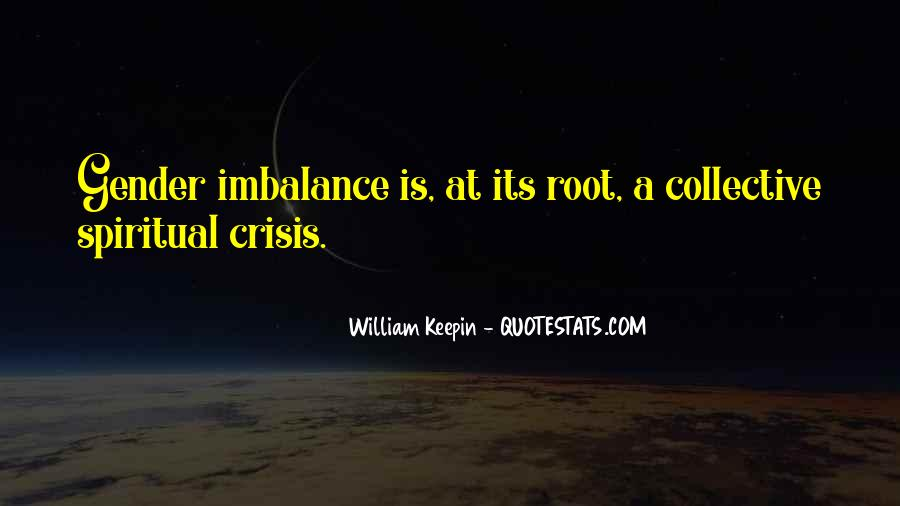 Quotes About Imbalance #185740