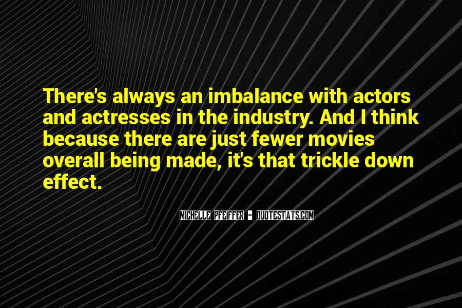 Quotes About Imbalance #189650