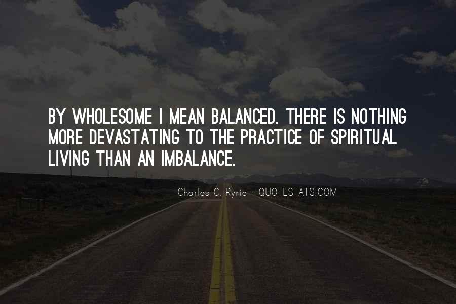 Quotes About Imbalance #478823