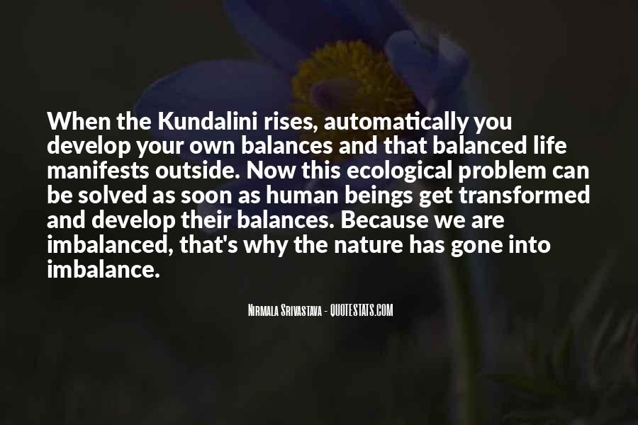 Quotes About Imbalance #494735
