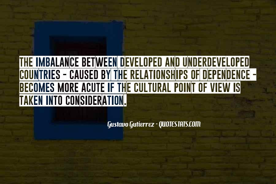 Quotes About Imbalance #779737