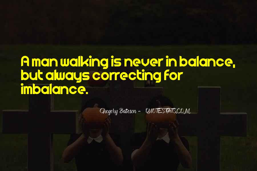 Quotes About Imbalance #826622