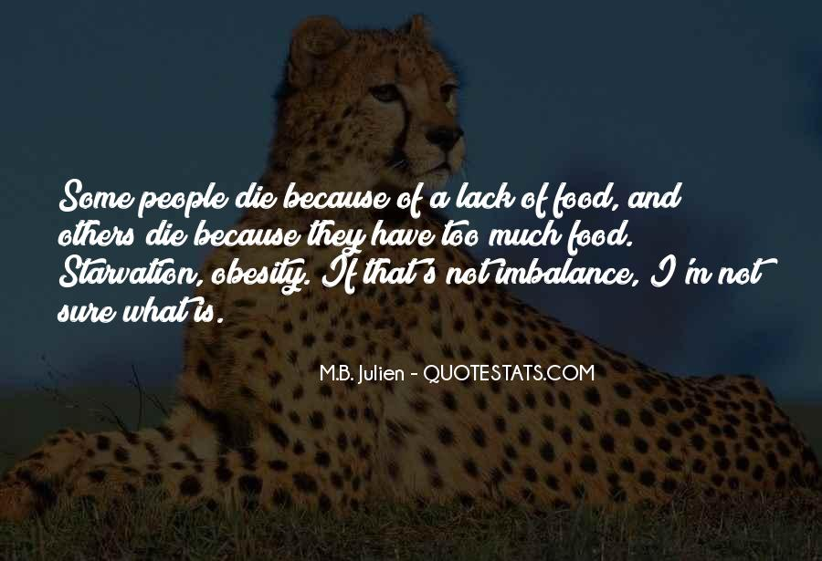 Quotes About Imbalance #865379