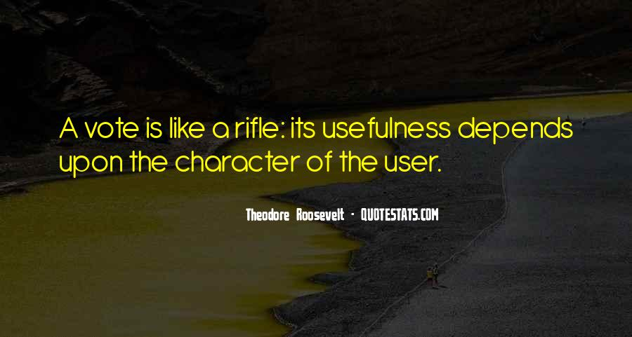 Quotes About Usefulness #328770