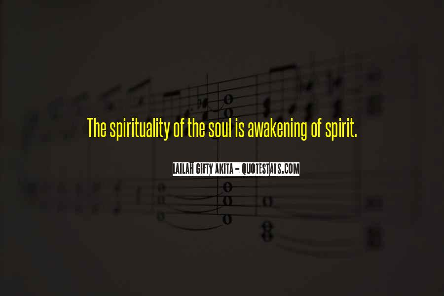 Quotes About Awakening Your Soul #743993