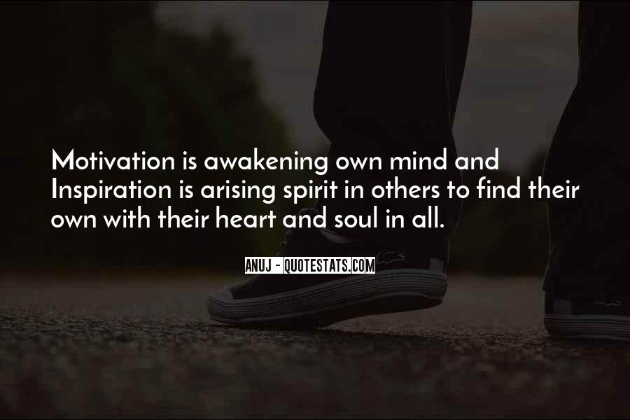 Quotes About Awakening Your Soul #815576