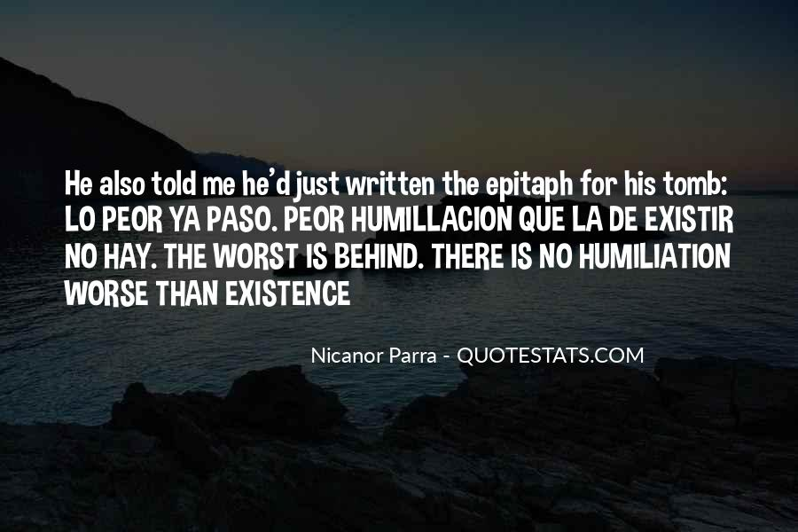Nicanor Quotes #1124763