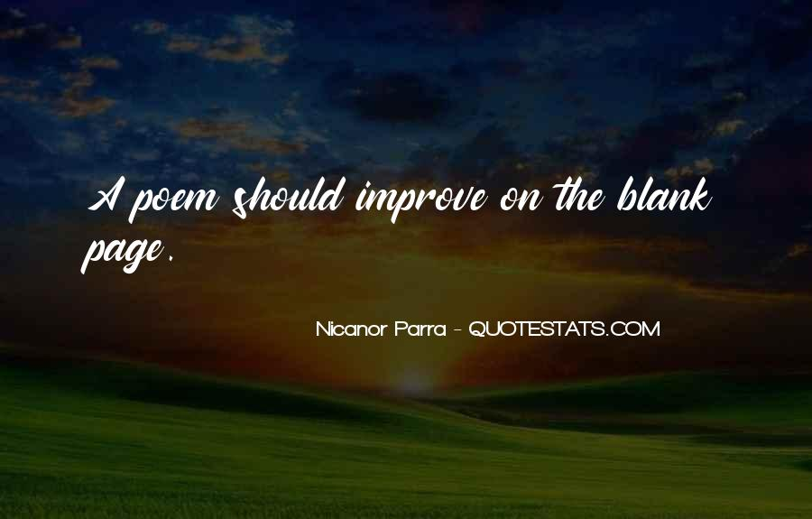 Nicanor Quotes #860789