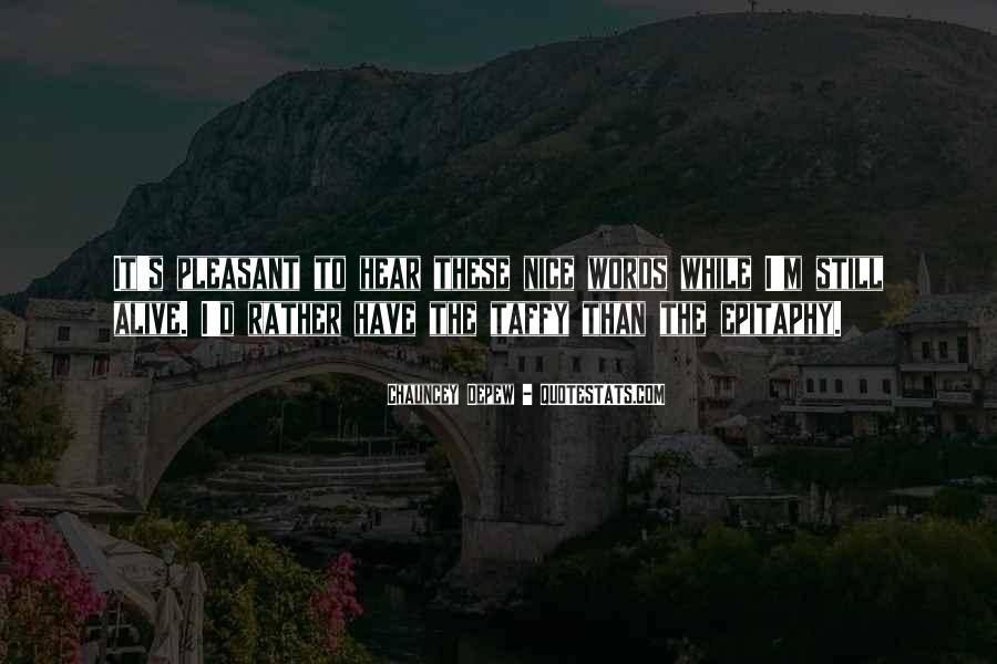Nice's Quotes #26462