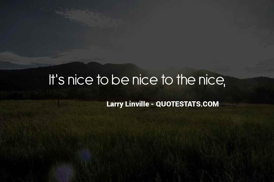 Nice's Quotes #49238