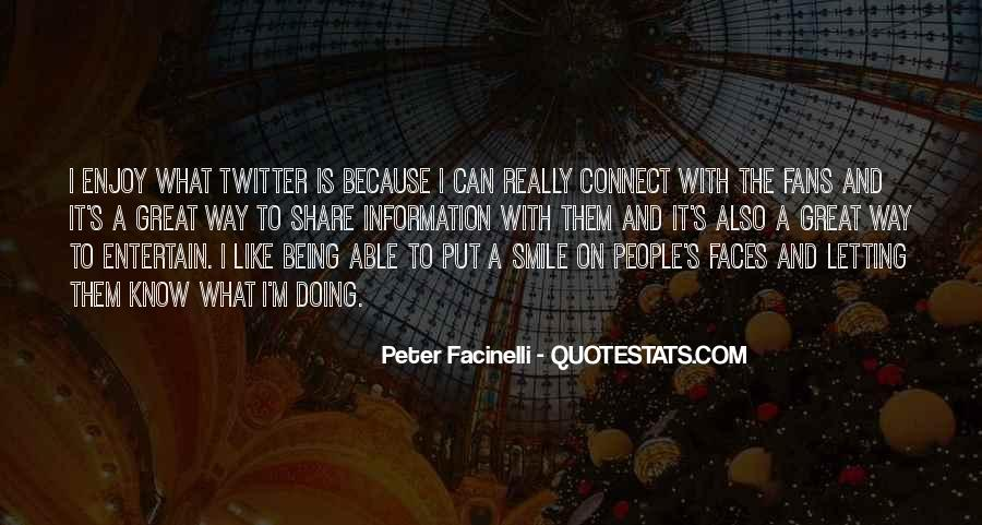 Quotes About Smile Twitter #143368