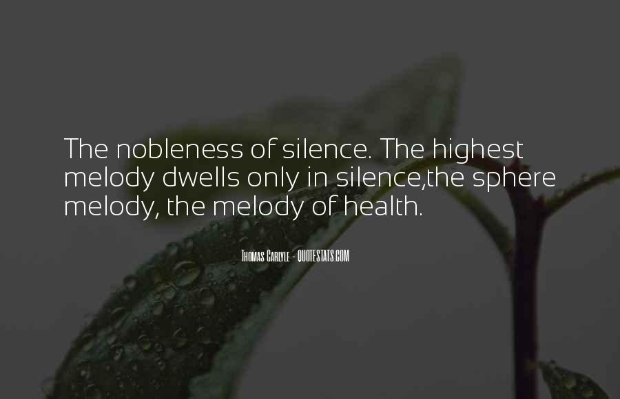 Nobleness Quotes #597770