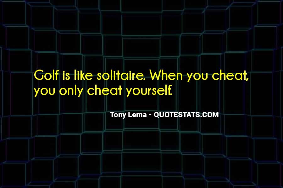 Quotes About Solitaire #1239831