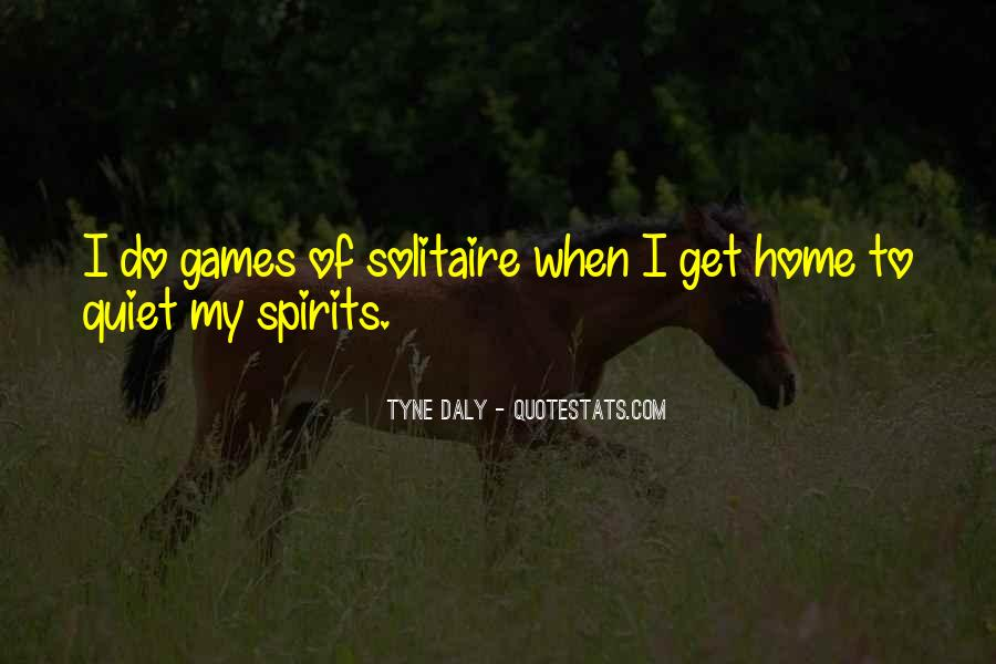 Quotes About Solitaire #1394081