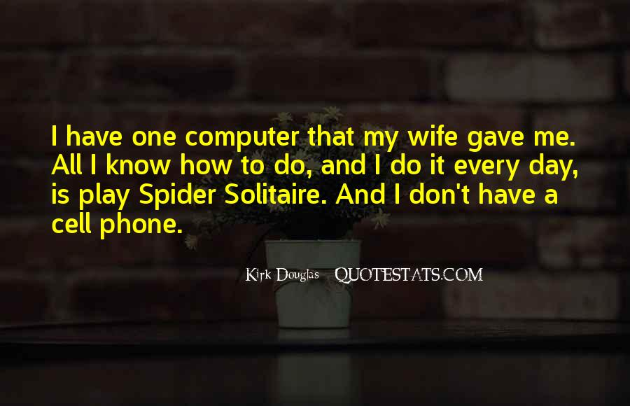 Quotes About Solitaire #1395107