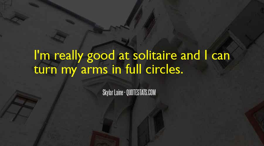 Quotes About Solitaire #250007