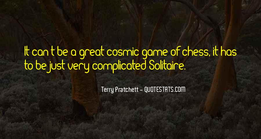 Quotes About Solitaire #536871