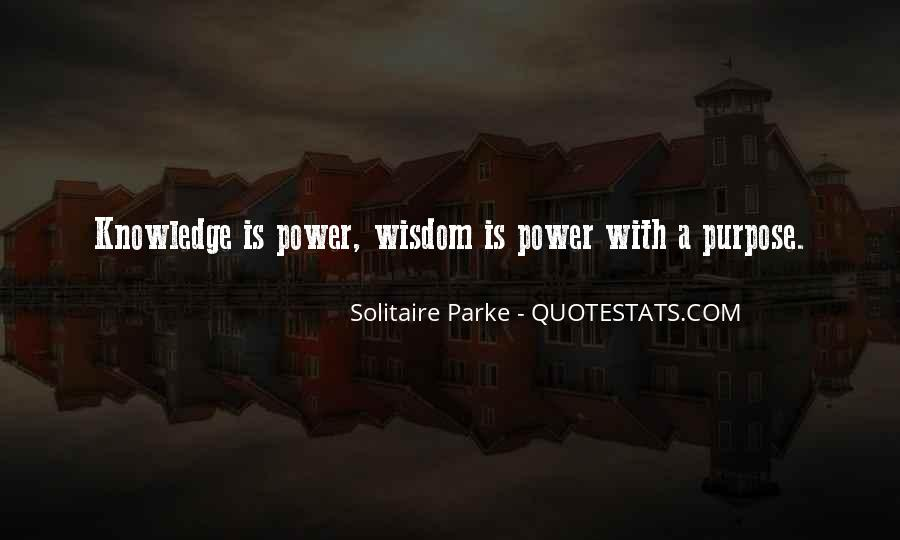 Quotes About Solitaire #779340