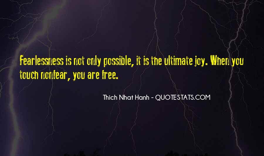 Nonfear Quotes #1790135