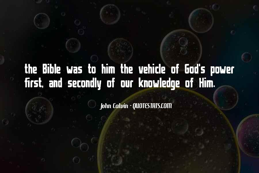 Quotes About God's Power From The Bible #157099