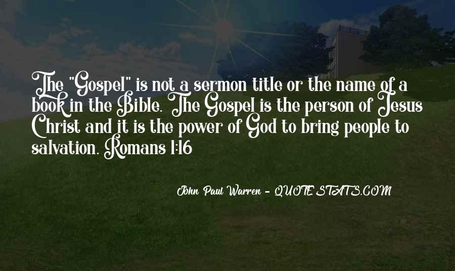 Quotes About God's Power From The Bible #1740891
