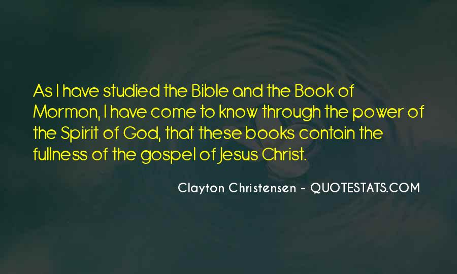 Quotes About God's Power From The Bible #1872778