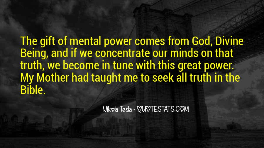Quotes About God's Power From The Bible #290120