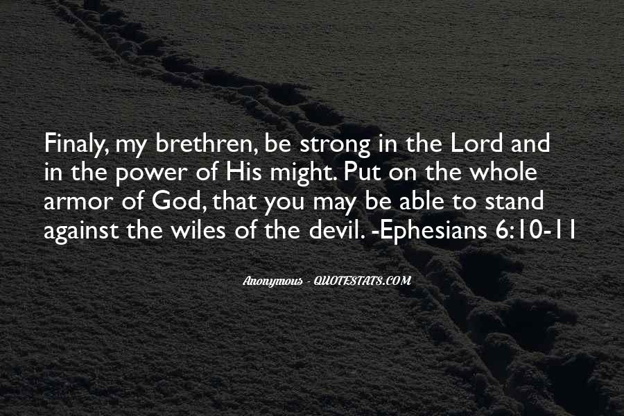 Quotes About God's Power From The Bible #67093