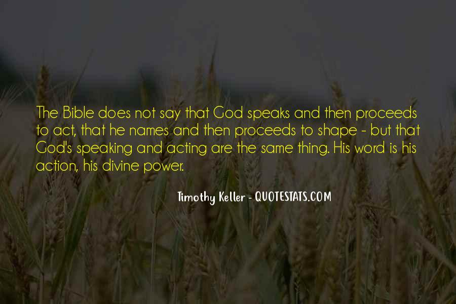 Quotes About God's Power From The Bible #687016