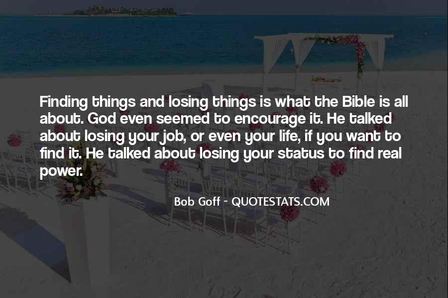 Quotes About God's Power From The Bible #759941