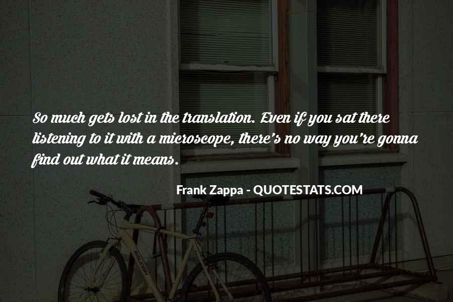 Quotes About Lost In Translation #1087863