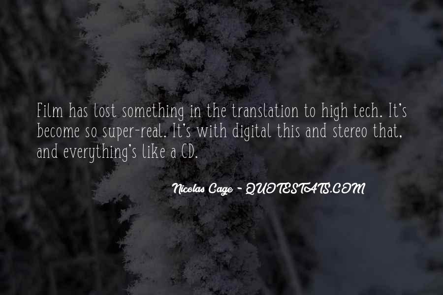 Quotes About Lost In Translation #1328493