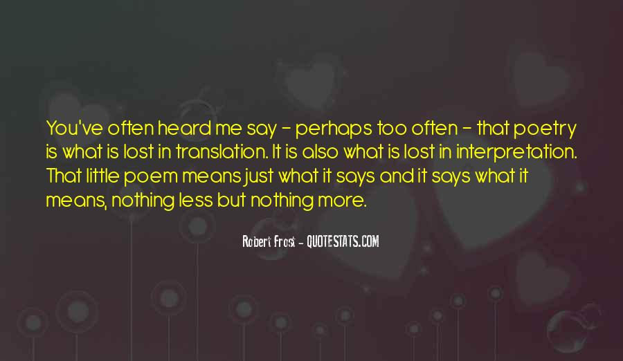 Quotes About Lost In Translation #1510884