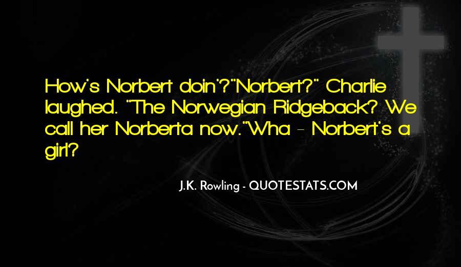 Norberta Quotes #287506