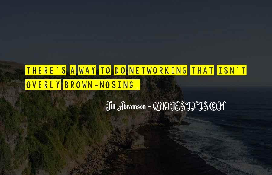 Nosing Quotes #1381356